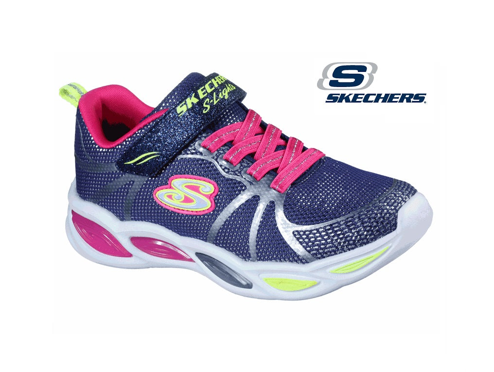 SKECHERS SPORTY GLOW-302042N-NAVY/MULTY