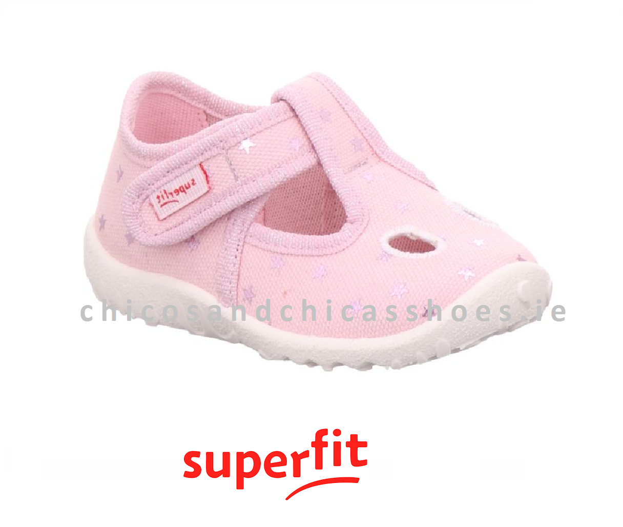 SUPERFIT GIRLS CANVAS-SPOTTY-1/009248/5000-PINK