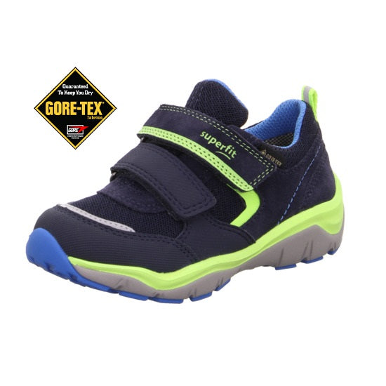 SUPERFIT SPORT5 GORETEX BOYS RUNNER-1-000238-8000-NAVY/GREEN