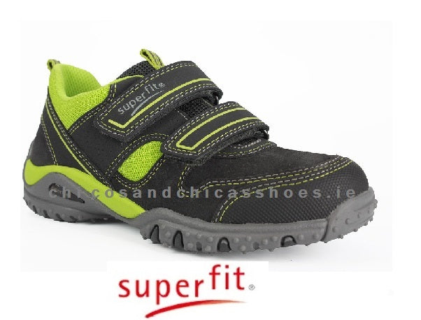 SUPERFIT BOYS RUNNERS-3/09224/30-GREY/GREEN