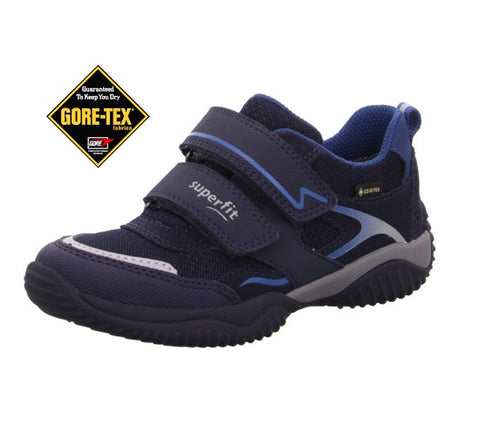 SUPERFIT STORM BOYS GORETEX RUNNERS-1-006383-8000-STORM-NAVY