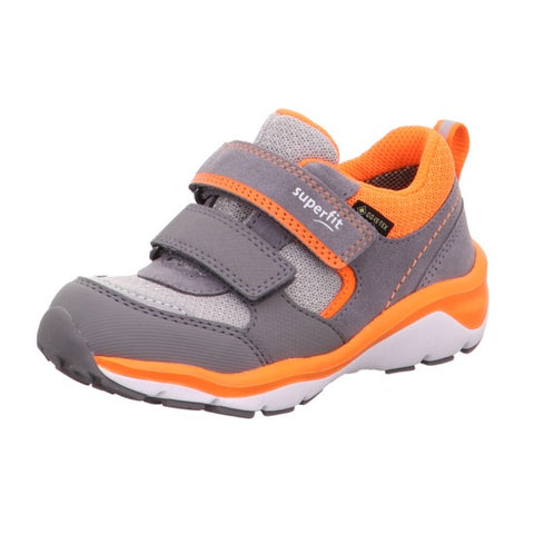 SUPERFIT BOYS GORETEX RUNNERS-6-09238-25-GREY/ORANGE