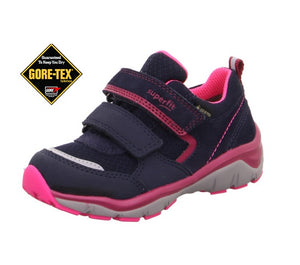 SUPERFIT SPORT5 GIRLS GORETEX RUNNERS-1-000238-8010-NAVY/PINK