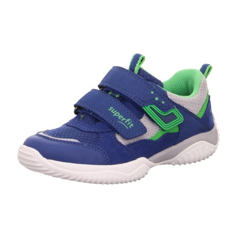 SUPERFIT BOYS RUNNERS-6-06382-81-BLUE/GREY/GREEN