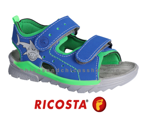 RICOSTA BOYS WATERFRIENDLY SANDAL-SURF-4530100/153-BLUE/GREEN