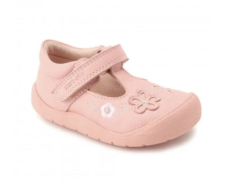 START-RITE GIRLS SHOES-FIRST MIA-0743-6-PINK