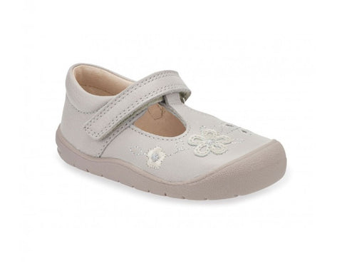 START-RITE GIRLS SHOES-FIRST MIA-0743-6-TAUPE