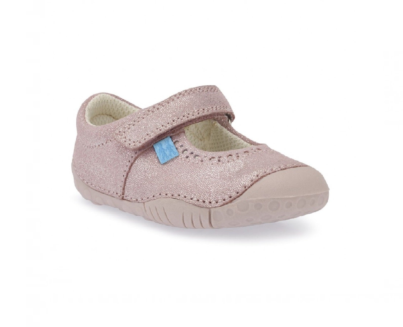 START-RITE GIRLS PRE-WALKERS-CRUISE-0751-5-METALLIC PINK