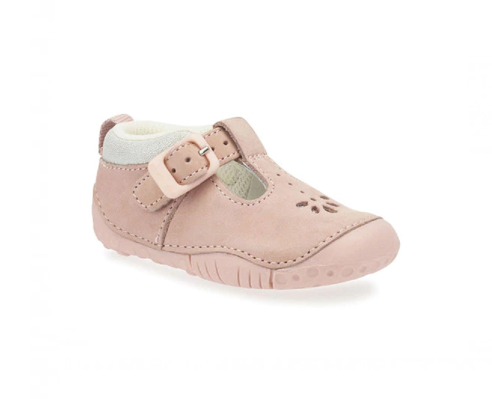 START-RITE GIRLS PRE-WALKERS-BABY BUBBLE-0741-6-PINK