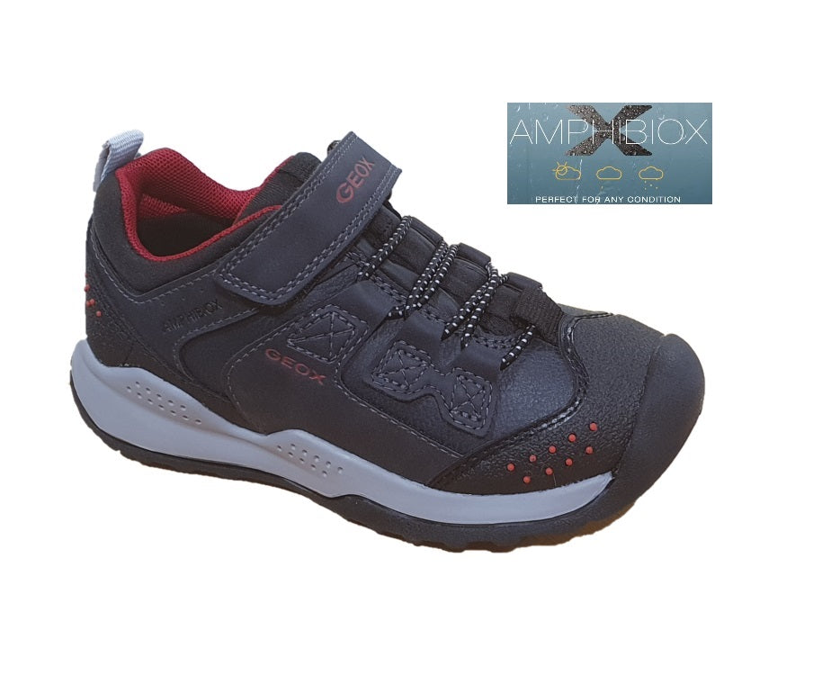 GEOX-J TERAM WATERFRIENDLY- J04AEC-NAVY/RED