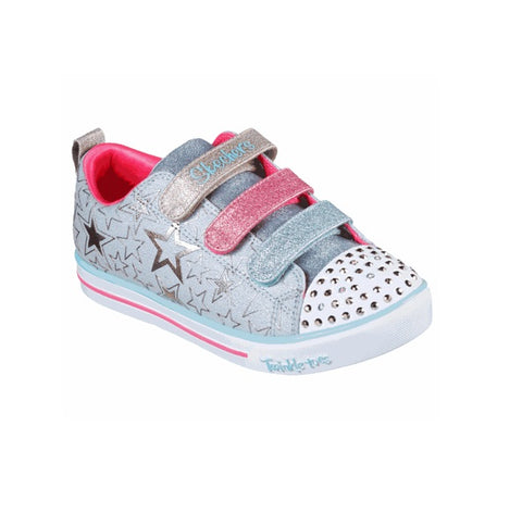 SKECHERS TWINKLE TOES-STAR THE LIMIT-314036L/LBMT
