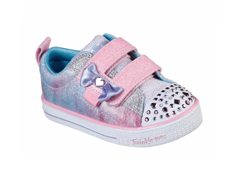 SKECHERS TODDLERS TWINKLE TOES-SWEET SUPPLY-20320N/LPMT