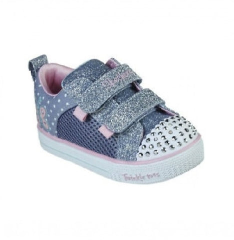 SKECHERS TODDLERS TWINKLE TOES-MISS BUTTERFLY-314021N/LBPK