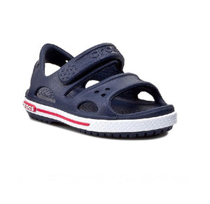 CROCS BOYS SANDAL-CROCBAND II-NAVY/WHITE