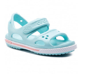 CROCS GIRLS SANDAL-CROCBAND II- ICE BLUE