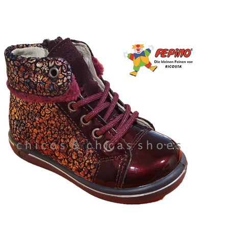 RICOSTA-CHILBIE-2624700/382-BURGUNDY