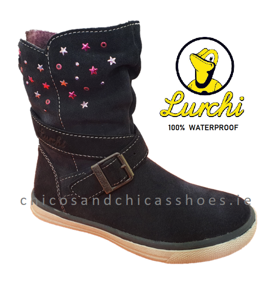 LURCHI GIRLS WATERPROOF BOOTS-33-13604-22 -CINA-TEX-ATLANTIC