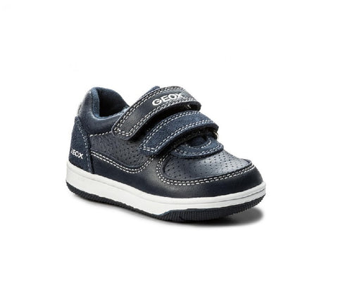 GEOX BOYS SHOES-B FLICK-NAVY