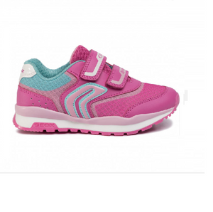GEOX GIRLS RUNNER-J PAVEL-FUCHSIA/PINK