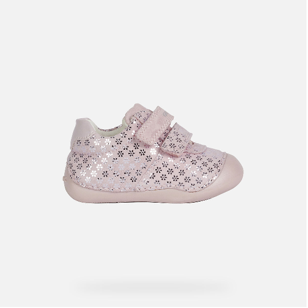 GEOX GIRLS PREWALKERS-B TUTIM-ROSE