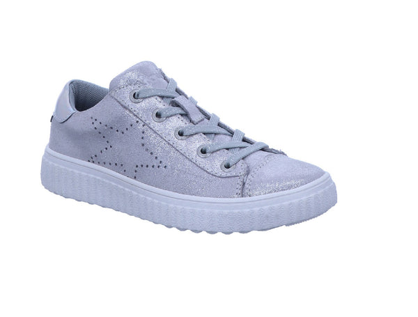 LURCHI JUNIOR GIRLS CASUAL SHOE-NELIA-SILVER