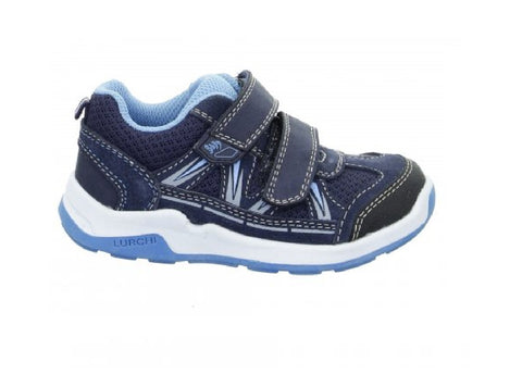 LURCHI BOYS SHOE/RUNNER-MARCOS-NAVY