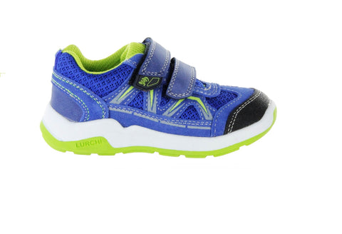 LURCHI BOYS SHOE/RUNNER-MARCOS-ROYAL/LIME