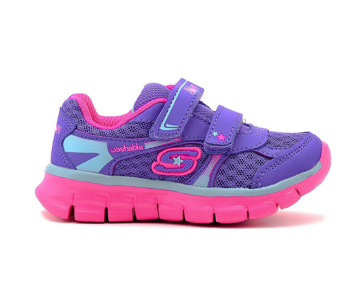 SKECHERS GIRLS-LIL SOFT-80867N/PRMT