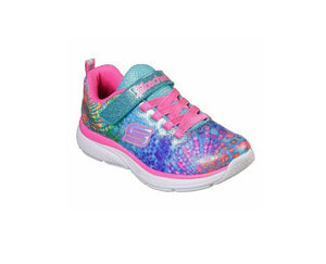 SKECHERS TODDLER GIRLS-WAVY LITES-81385N/MLT