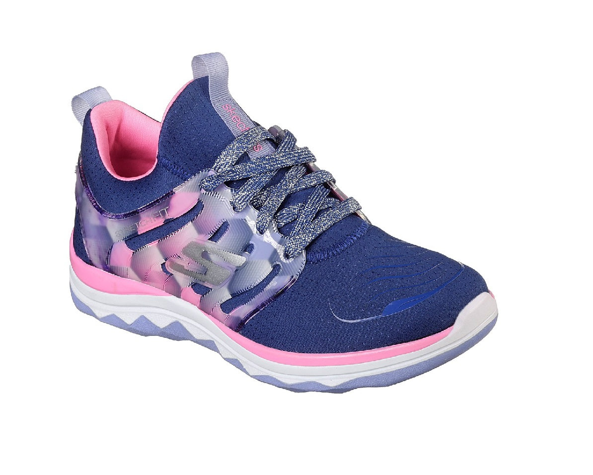 SKECHERS GIRLS-DIAMOND RUNNER-81560L/NVHP