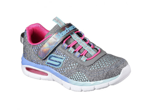 SKECHERS GIRLS-CRUSHING CUTTIE-81718L/GRY/MT