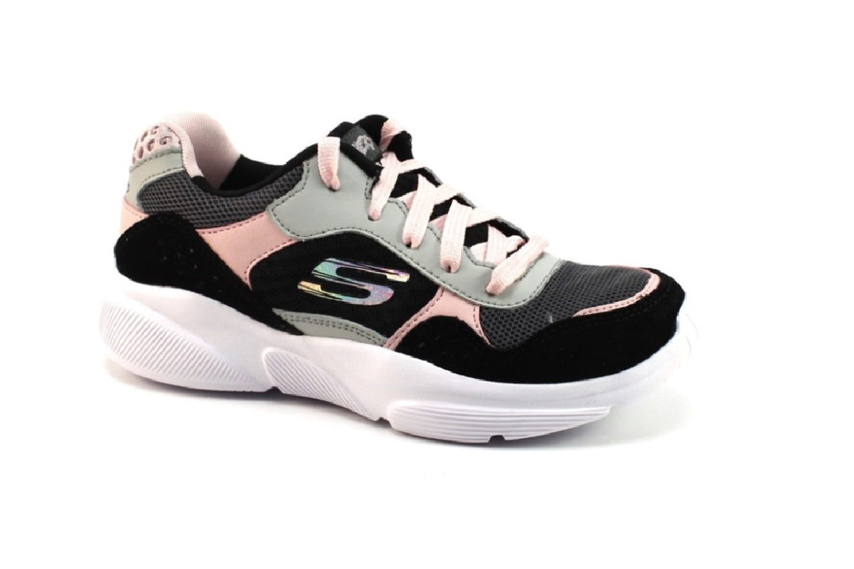 SKECHERS GIRLS-CHARTED- 81953L/BKLP