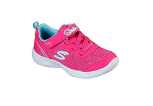 SKECHERS GIRLS-SPARKLE TRAINER-82120N/HPTQ