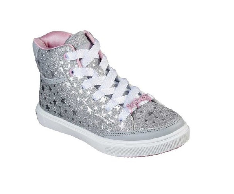 SKECHERS GIRLS-STARS SQUAD-84777L/SIL