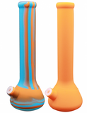 "14"" SILICONE TWO-PART WATER PIPES - Puff And Vapes Store"