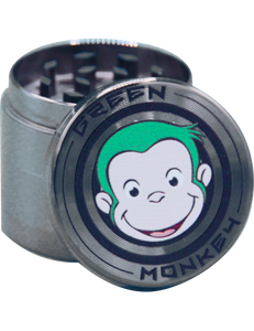 GREEN MONKEY ZINC GRINDER - Puff And Vapes Store