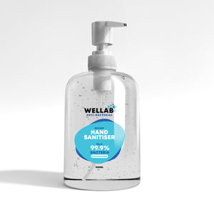 WELLAB 500ml Hand Gel Sanitiser 75% Alcohol