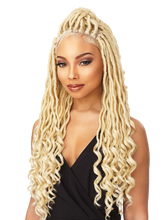 Load image into Gallery viewer, Goddess Locs Lace Multi-Parting Wig