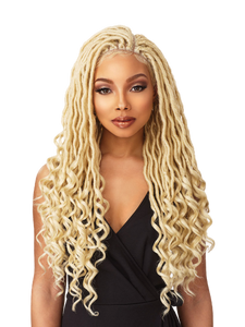 Goddess Locs Lace Multi-Parting Wig