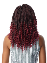 Load image into Gallery viewer, 3X Goddess Box Braid 12""