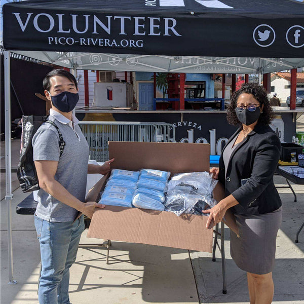 Masks Can Help Donates over 1,000 Masks to Pico Rivera's Free Coronavirus Testing