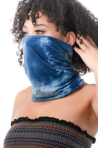 Reversible Neck Gaiter in Tie Dye - Masks Can Help
