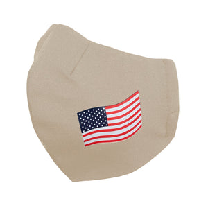 American Flag Face Mask - Masks Can Help