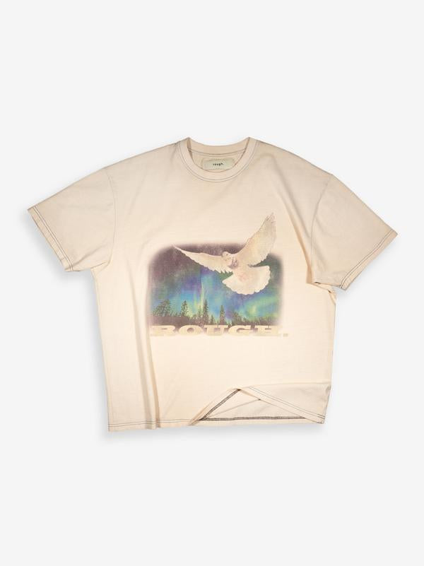 ROUGH T-SHIRT DOVE OW