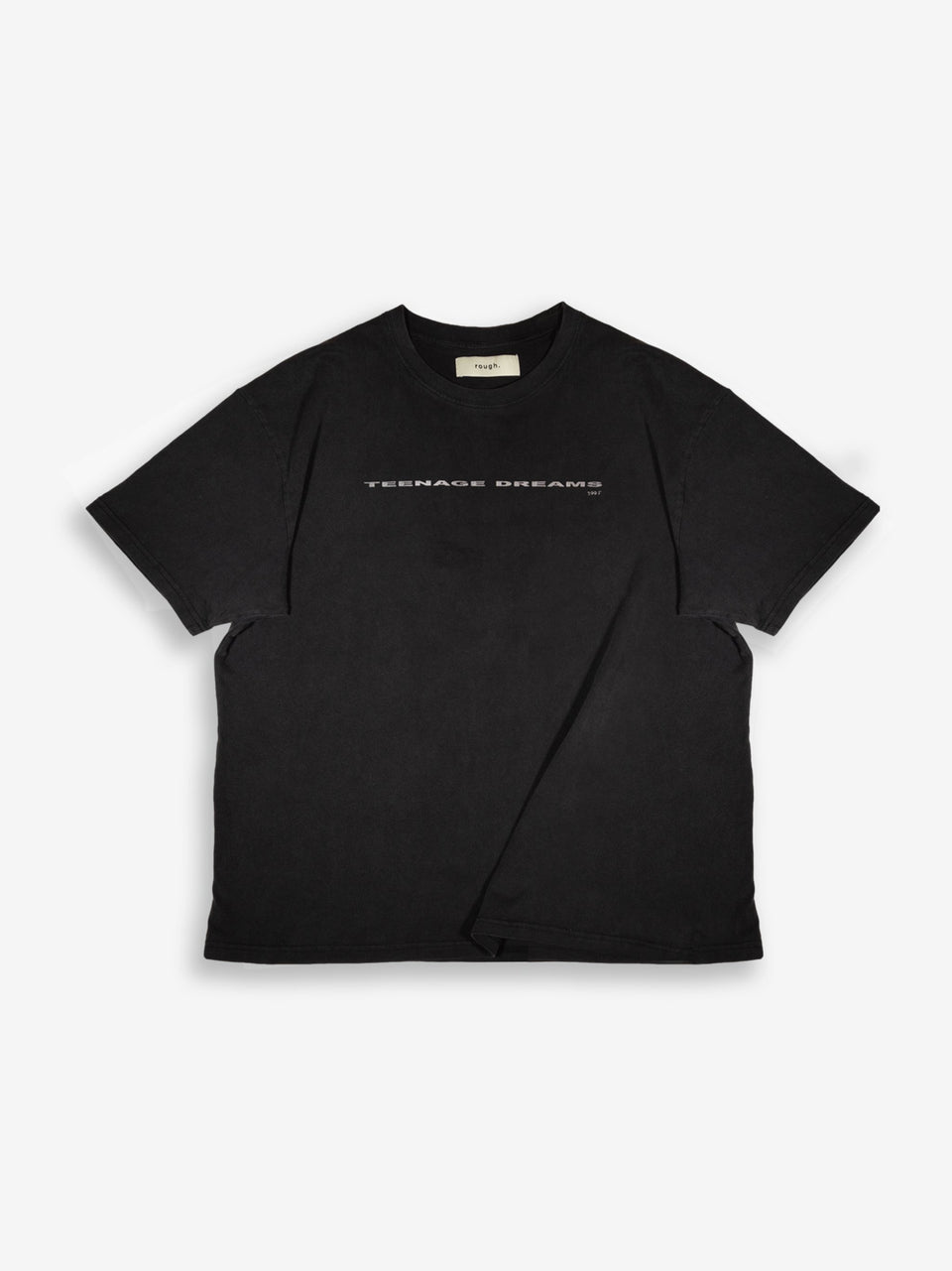 ROUGH T-SHIRT CLOUD BLACK
