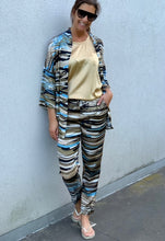 Afbeelding in Gallery-weergave laden, Manila Grace Pants Viscose Militare