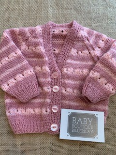 'Knitted By Lucy' Hand Knitted Cardigan