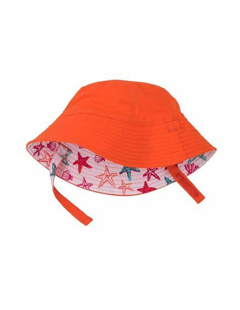 Hatley Starfish Unicorns Reversible Hat
