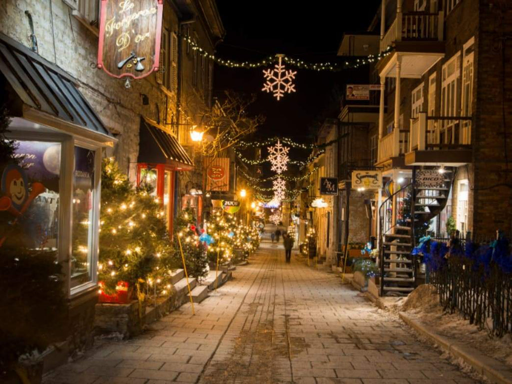 Add Sparkle to Your Holidays In Quebec City, Canada