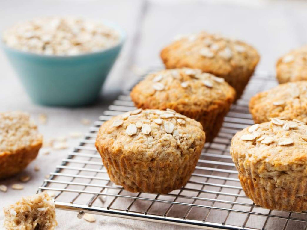 Recipe: BANANA OAT MUFFINS